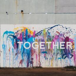 Wandgemälde Together