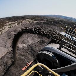 Verbandsklagerecht | Kohleförderband